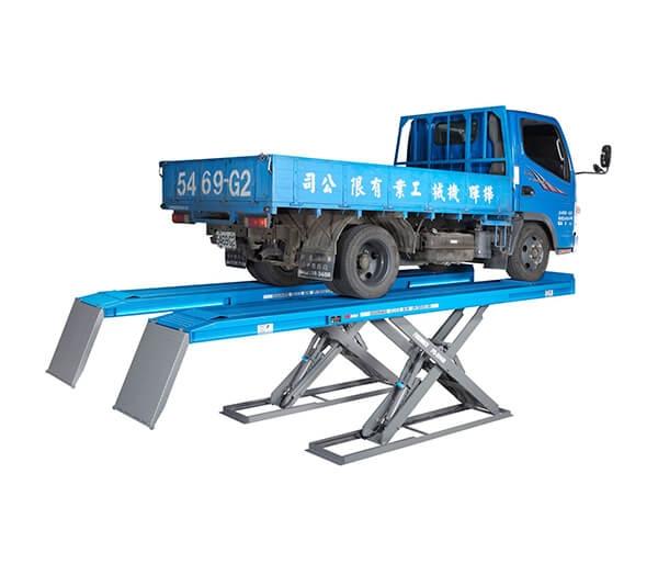 中型平板頂車機