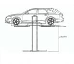 Single Post Parking Lifts