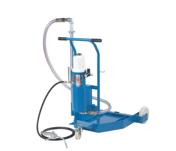 Air operated Oil Lubricator Trolley