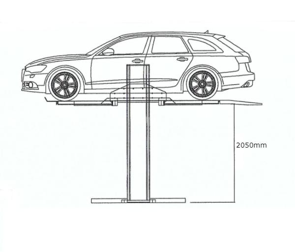 FG-PL1 單柱升降平台